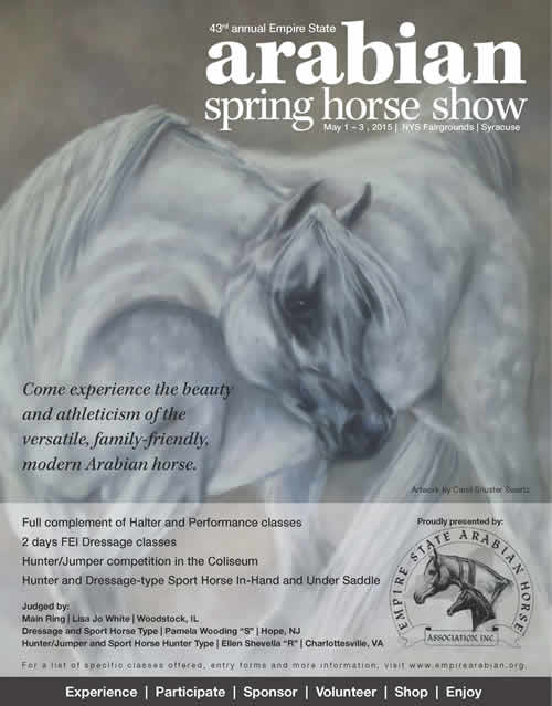 43rd Annual Empire State Arabian Spring Horse Show